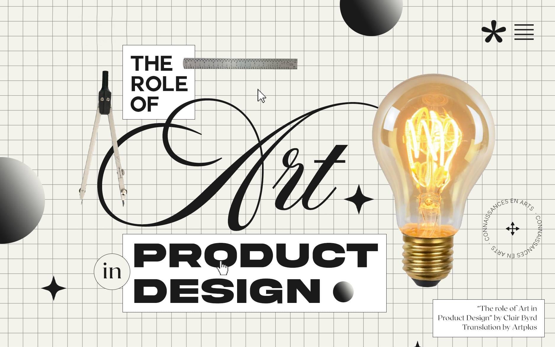 Vai trò của nghệ thuật trong thiết kế sản phẩm